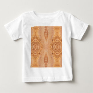 Olive wood surface texture patterns baby T-Shirt
