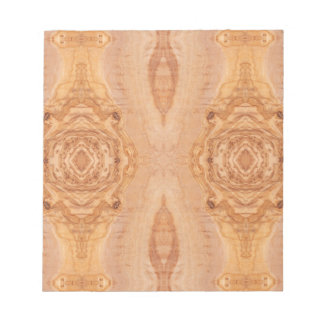 Olive wood surface texture patterns notepad