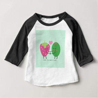 Olive You Berry Much Baby T-Shirt