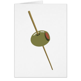 Olive You (I Love You) Funny Romantic Valentine Card
