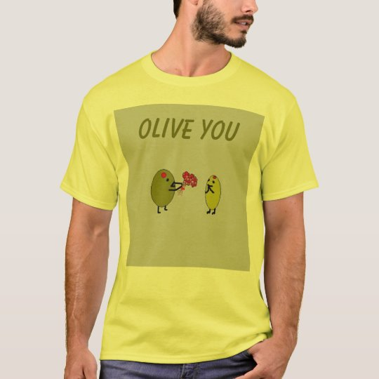 OLIVE YOU - Olives in Love - shirt