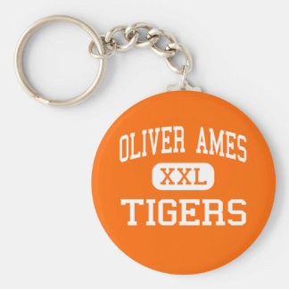 Oliver Ames - Tigers - Senior - North Easton Keychain