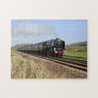 Oliver Cromwell British Steam Train Puzzle