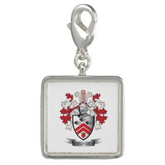 Oliver Family Crest Coat of Arms Charm