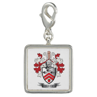Oliver Family Crest Coat of Arms Photo Charms