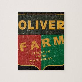 Oliver Farming Jigsaw Puzzle