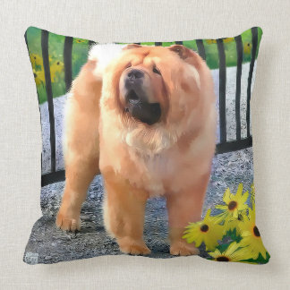 OLIVER  heARTdog 2 Side pillow