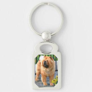 OLIVER heARTdog chow keychain