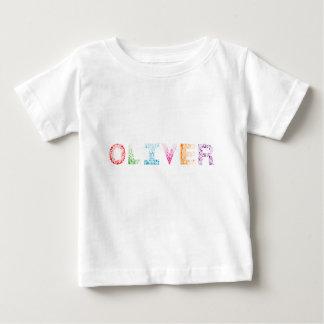 Oliver Letter Name Baby T-Shirt