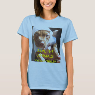 Oliver the Great, SAVE THE ANIMALSwww.arme.tv T-Shirt