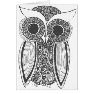 Oliver the Owl Card