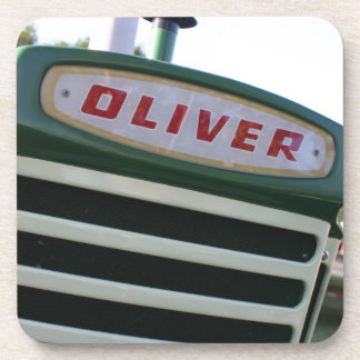 Oliver tractor farm equipment coaster gifts
