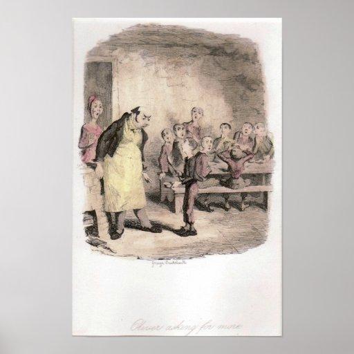 Oliver Twist Asks for More Original Poster