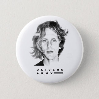 Olivers Army Face Decal Badge 2 Inch Round Button