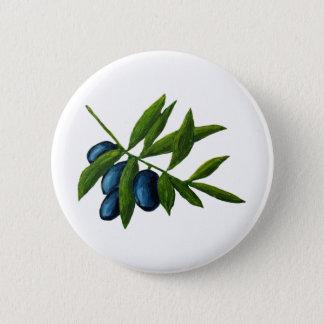 Olives 2 Inch Round Button