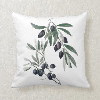 Olives botanical cushion