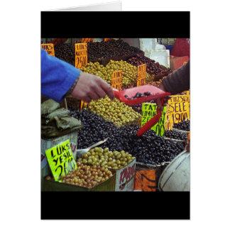 Olives Card