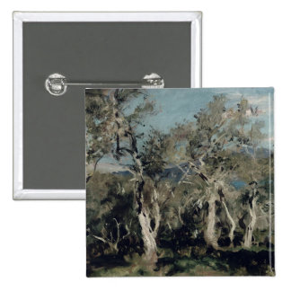 Olives, Corfu, 1912 2 Inch Square Button