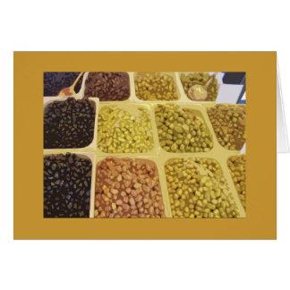 Olives for Sale! Card