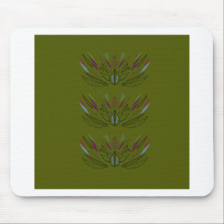 Olives green edition mouse pad