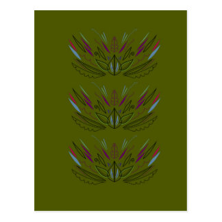 Olives green edition postcard