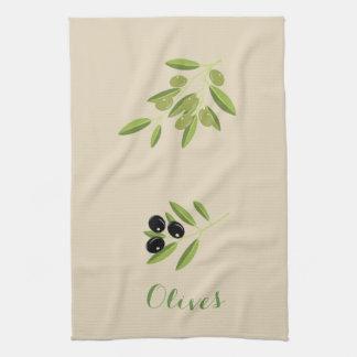 Olives Kitchen Towel