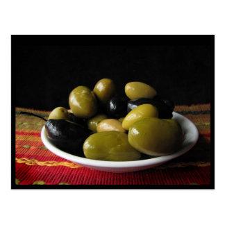 Olives Postcard