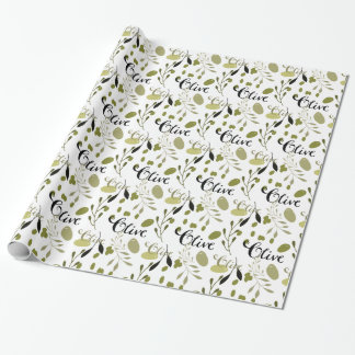 Olives Wrapping Paper