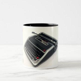 Olivetti Lettera 33 typewriter Two-Tone Coffee Mug
