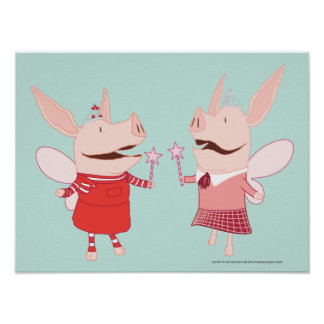 Olivia and Francine - Fairy Poster
