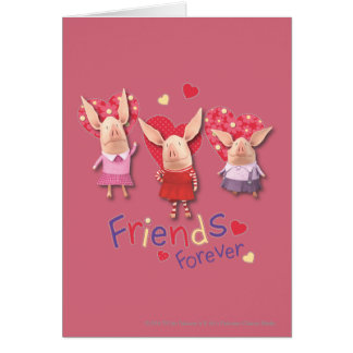 Olivia - Friends Forever Card