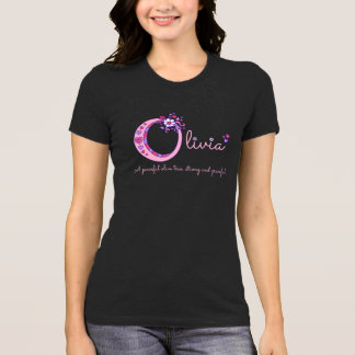 Olivia girls name and meaning O monogram shirt