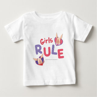 Olivia - Girls Rule Baby T-Shirt