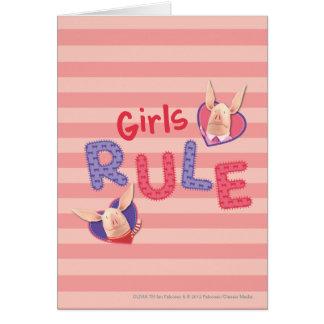 Olivia - Girls Rule Card