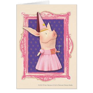 Olivia in Pink Frame Card