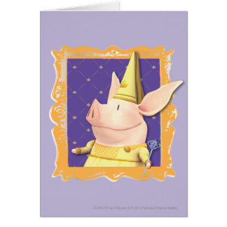 Olivia - in Yellow Frame Card