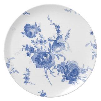 Olivia ink picnic plate