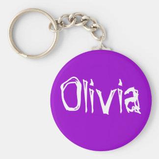 Olivia Keychain