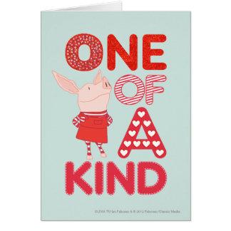 Olivia - One of a Kind Card