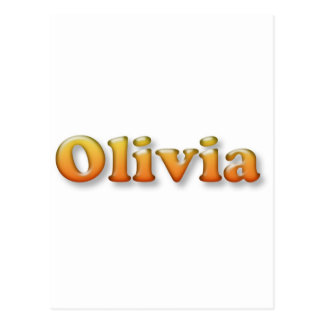 olivia postcard