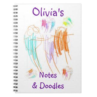 Olivia's Doodles Notebook