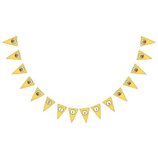 Olivia Sloth Party Bunting Flags