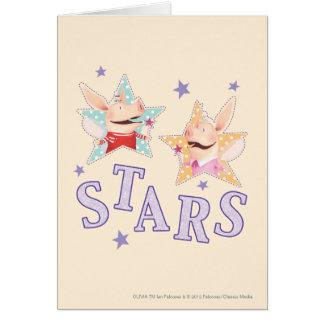 Olivia - Stars Card