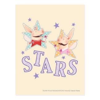 Olivia - Stars Postcard