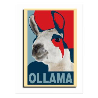 Ollama Obama - Postcard