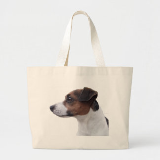 Ollie the Jack Russell Large Tote Bag