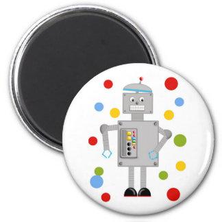 Ollie The Robot 2 Inch Round Magnet