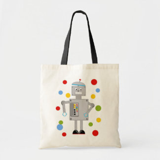 Ollie The Robot Tote Bag