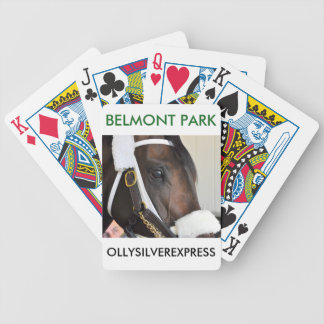 Ollysilverexpress Bicycle Playing Cards