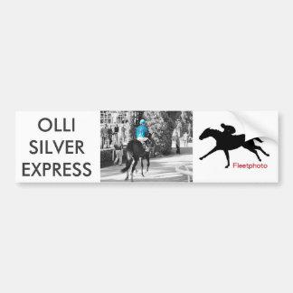 Ollysilverexpress & Joe Mazza Bumper Sticker